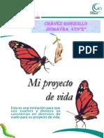Mi Proyecto de Vida Chavez