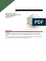 Respirador n95 Ref. 8210v (Tapabocas - Polvo)