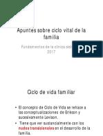 Apuntes Sobre Ciclo Vital de La Familia
