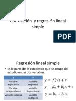 7 Correlacion y Regresion Lineal