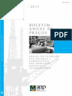2015 - ANP - Boletim Anual de Preços 2015