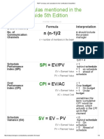 PMP Formulas and Calculation for the Certification Demystified