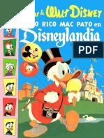 Cuentos de Disney Tio Rico en Disneylandia