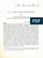 La Historia Clinica Hipocratica 786318