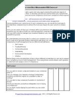 Self Management Checklist.pdf