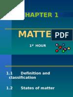 Topic 1 - Matter