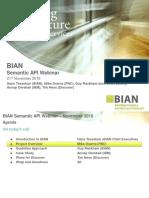 BIAN API Webinar Slides Final 11-20-2016