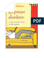 Alexandre - Repouso Absoluto _Bed Rest_ - Sarah Bilston