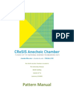 Anechoic Chamber Pattern Manual