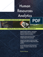 Human Resources Analytics Quick Exploratory Self-Assessment Guide