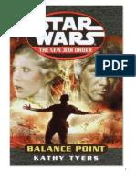 112A Kathy Tyers - Star Wars - La Nueva Orden Jedi 06 - Punto de Equilibrio