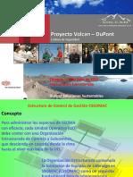 Organización Estructurada Volcan Por Niveles 18-Jul-2012