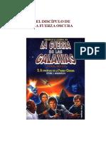 Anderson, Kevin J. - Star Wars - La Nueva República - Trilogía de La Academia Jedi 2 - El Discípulo de La Fuerza Oscura