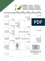 10 oct  calendar