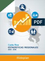 Costa Rica Estadisticas Regionales 2010-2015