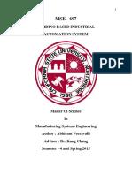 Abstract ArduinoBasedIndustrialAutomationSystem