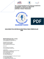 GUIA+DIDACTICA+DE EDUC FIS 2008 PREESCOLAR+QUERETARO