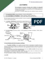 Cours sur les pompes.pdf