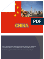 China cross- cultural communication