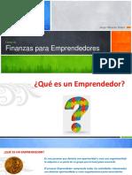 Fin Emprendedores, Tema I