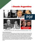 Crisis de Deuda Argentina