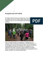 Rapport 2017-09-09 Kungslena Åsar