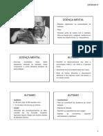 Doença Mental e Deficiência Intelectual [Modo de Compatibilidade] (1)