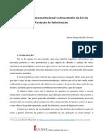 20170127 ARTIGO JULGAR Lei Da Gestação de Substituição Maria Margarida Silva Pereira