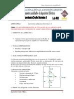 l Punto de Operacion Del Transistor Lab Cir Electronicos II