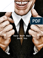 Gerry Buck Says Buck You