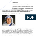 Biografía corta de la Madre Teresa de Calcuta.docx