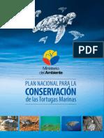 l Plan Nacional Para Conservación de Las Tortugas Marinas Ecuador 2014