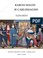 Eginardo Einhard; Pablo J. Castiella Ed. Vida de Carlomagno Vita Karoli Magni. Edición Bilingüe Latín-castellano