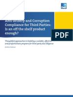 Anti Bribery and Corruption Compliance