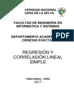 6. Regresión Lineal Simple