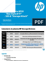HPSD - Competencia SDS Converged Systems Attached