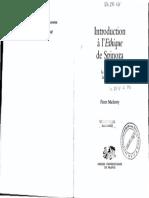 İlk Sayfa Pierre Macherey Introduction a Lethique de Spinoza Tome 2 La Realite Mentale 2 Ppvj