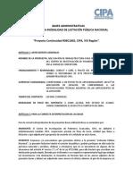 Bases Administrativas Licitacion Publica