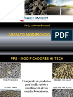 asfalto modificado con PPS