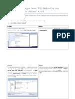 Despliegue Web en MV Azure