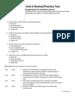 AP2 Unit 6 Exam Review CAS