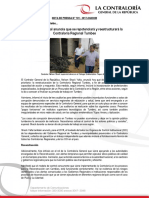NP101-2017 | Contralor General anuncia que se repotenciará y reestructurará la Contraloría Regional Tumbes