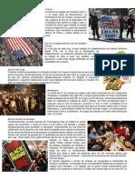 Costumbres y Tradiciones, Cultura, Lugares Turisticos,  Comidas Tipicas, Vestuario Estados Unidos.docx