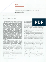 A Practical Classification of Septonasal Deviation.42