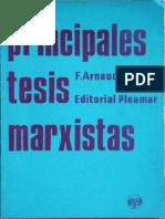 Arnaudo Jose - Principales Tesis Marxistas