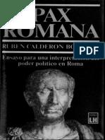 Calderon Bouchet Ruben - Pax Romana