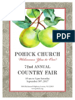 Pohick Church Fair Book, 2017