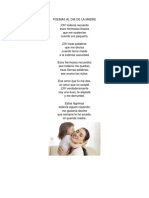 Poemas Al Dia de La Madre