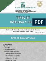 Tipos de Insulinas y Usos