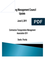 CTMA Packaging Management Council Update 06-08-11